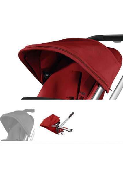 Quinny Buzz Xtra Suncanopy | Hood | Rocking Black | Red Rumour